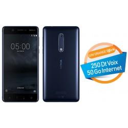 Téléphone Portable Nokia 5 / Bleu + SIM Orange Offerte (50 Go)