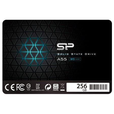 "Disque Dur SSD Silicon Power 2.5"" Slim Ace A55 / 256 Go"