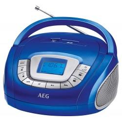 Radio portable FM AEG SR 4373 / Bleu