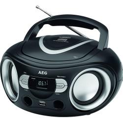 Radio-CD FM AEG SR 4374 / Noir
