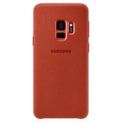 Coque en Alcantara pour Samsung Galaxy S9 / Rouge