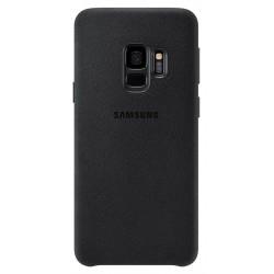 Coque en Alcantara pour Samsung Galaxy S9 / Noir