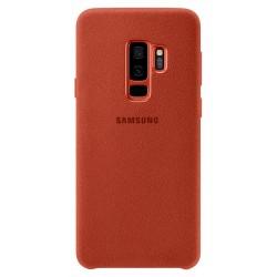 Coque en Alcantara pour Samsung Galaxy S9+ / Rouge