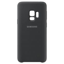 Coque en silicone pour Samsung Galaxy S9 / Noir