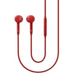 Écouteurs semi intra-auriculaires Samsung / Rouge