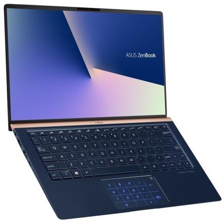 Pc portable Asus ZenBook 13 UX333FN / i7 8è Gén / 8 Go / Bleu + SIM Orange Offerte 30 Go