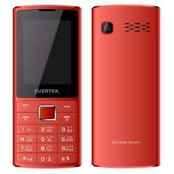 Téléphone Portable Evertek Amigo / Double SIM / Rouge