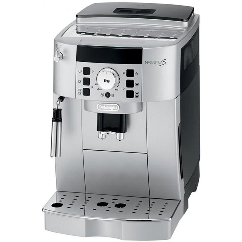 machine expresso automatique avec broyeur delonghi gris. Black Bedroom Furniture Sets. Home Design Ideas