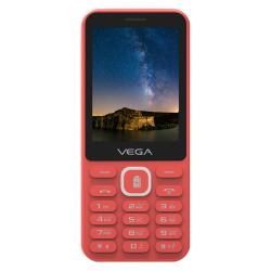 Téléphone Portable VEGA Cocci 3100 / Double SIM / Rouge