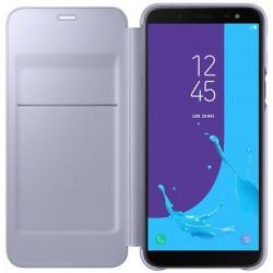 Etui portefeuille pour Samsung Galaxy J6 2018 / Bleu