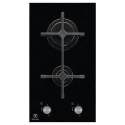 Plaque de Cuisson Electrolux Domino Vitro / 30 cm / Noir
