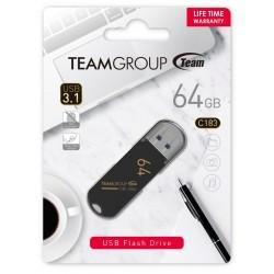 Clé USB TeamGroup C183 / 64 Go / USB 3.1