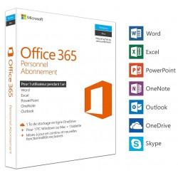 Microsoft Office 365 Personnel 1 utilisateur / 1 an