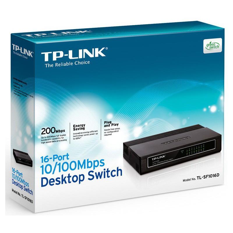Switch 16 Ports 10/100 Mbps