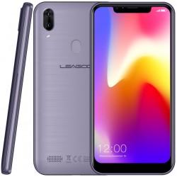 Téléphone Portable Leagoo M11 / 4G / Double SIM / Gris & Bleu + SIM Orange Offerte (50 Go)