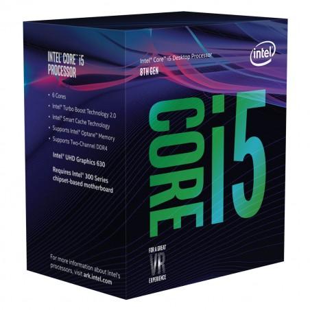 Processeur Intel Core Coffee Lake i5-8600 8é Génération