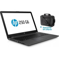 Pc portable HP 250 G6 / i5 7è Gén / 4 Go + Sacoche HP Originale + SIM Orange 30 Go