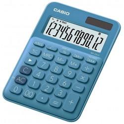 Calculatrice de bureau 12 chiffres Casio MS-20UC-BU / Bleu