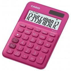 Calculatrice de bureau 12 chiffres Casio MS-20UC-RD / Rouge