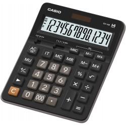 Calculatrice de bureau 14 chiffres Casio GX-14B / Noir