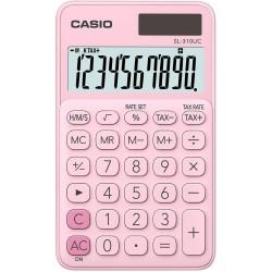 Calculatrice de poche 10 chiffres Casio SL-310UC-PK / Rose