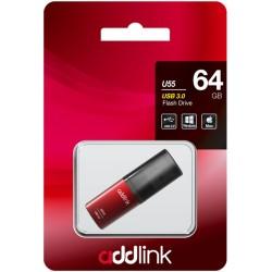 Clé USB Addlink U55 USB 3.0 / 64 Go / Rouge