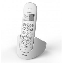 Téléphone DECT Sans Fil avec Haut Parleur VTech Solo CS1100 / Blanc