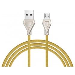 Câble USB vers Micro USB Hoco U25 / Gold