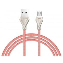 Câble USB vers Micro USB Hoco U25 / Rose Gold