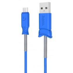 Câble USB vers Micro USB Hoco X24 / Bleu