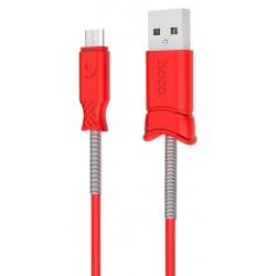 Câble USB vers Micro USB Hoco X24 / Rouge