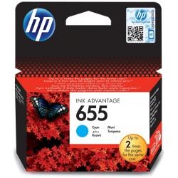 Cartouche d'encre Originale HP 655 / Cyan