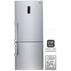 Réfrigérateur LG Combiné NoFrost 499L / Wifi / Silver