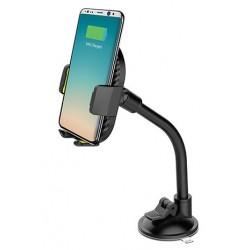 Support de Voiture Flexible & Chargeur Sans fil S-link SL-ATW10 Pour Téléphone Portable
