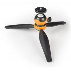 Trépied Extérieur Camlink CL-MT10 14 cm / Noir & Orange