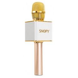 Microphone Haut-parleur Karaoké Snopy / Gold
