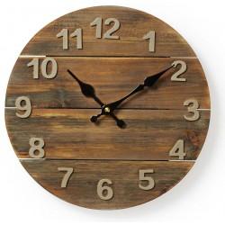 Horloge murale Nedis 30 cm / Bois