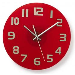 Horloge murale Nedis 30 cm / Rouge