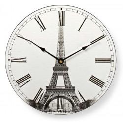 Horloge murale Nedis 30 cm / Tour Eiffel