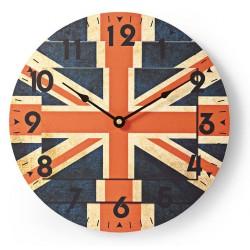 Horloge murale Nedis 30 cm / Union Jack
