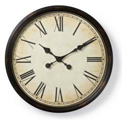 Horloge murale Nedis 50 cm / Style Ancien / Noir