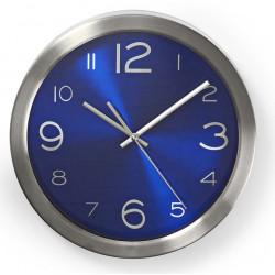 Horloge murale Nedis 30 cm / Bleu