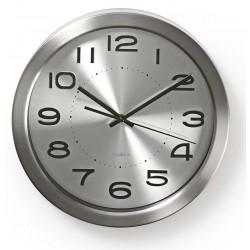 Horloge murale Nedis 30 cm / Argent