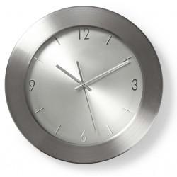Horloge murale Nedis 35 cm / Argent