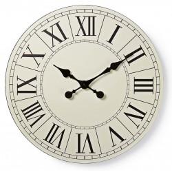 Horloge murale Nedis 50 cm / Noir et Blanc