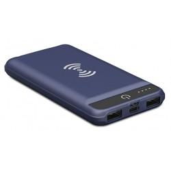 Power Bank et Chargeur Sans Fil S-Link G8W / 8000 mAh / Bleu