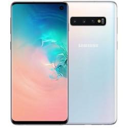 Téléphone Portable Samsung Galaxy S10 / Blanc + SIM Offerte
