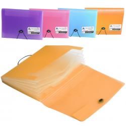 Trieur Extensible 6 Positions OfficePlast / Orange