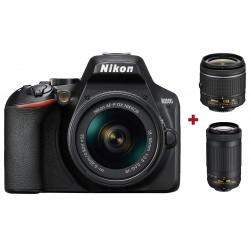 Réflex Numérique Nikon D3500 + Objectif AF-P DX NIKKOR 18-55mm + Objectif AF-P DX NIKKOR 70-300mm