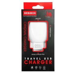 Chargeur Secteur BEBIBOS 2.4A / Blanc